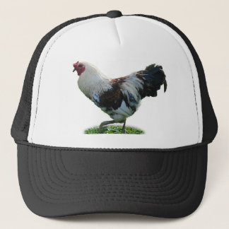 rooster 1 trucker hat
