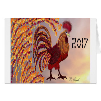 Rooster 2017 card