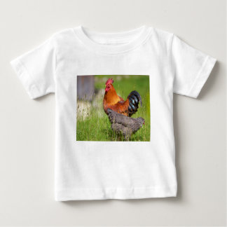 Rooster and hen baby T-Shirt