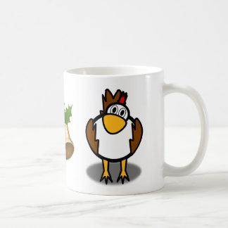 rooster bell mug