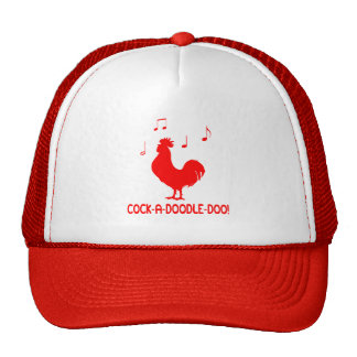 Rooster Cock-A-Doodle-Do Cap