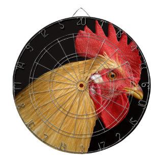 Rooster dart board