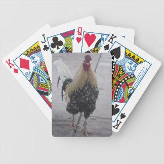Rooster Doodle Doo Poker Deck