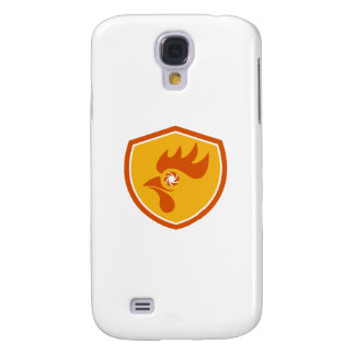 Rooster Eye Shutter Crest Retro Samsung Galaxy S4 Cases