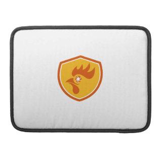 Rooster Eye Shutter Crest Retro Sleeve For MacBooks