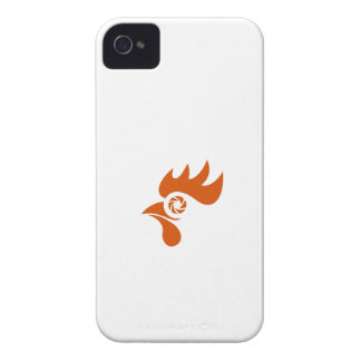 Rooster Eye Shutter Retro Case-Mate iPhone 4 Cases