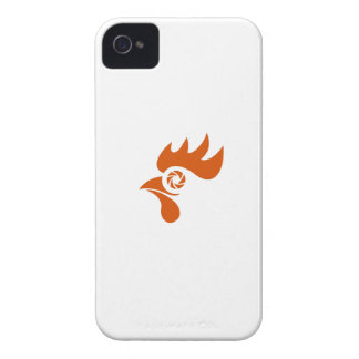 Rooster Eye Shutter Retro iPhone 4 Case-Mate Cases