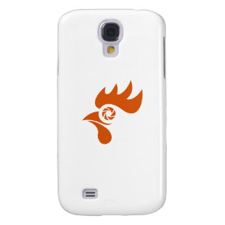 Rooster Eye Shutter Retro Samsung Galaxy S4 Cover