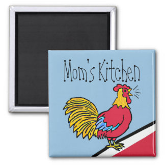 Rooster Farm Mom's Kitchen Magnet