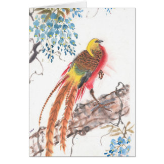 Rooster - Greeting Card