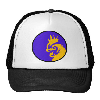 Rooster Image Fashion Cap
