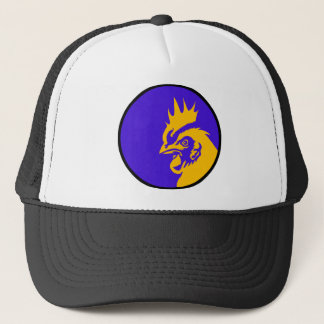 Rooster Image Fashion Trucker Hat