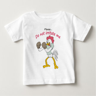 Rooster in gloves baby T-Shirt