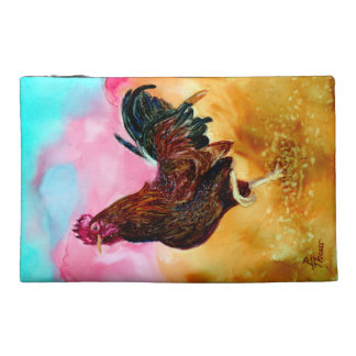 Rooster On the Run Travel Accessory Bag