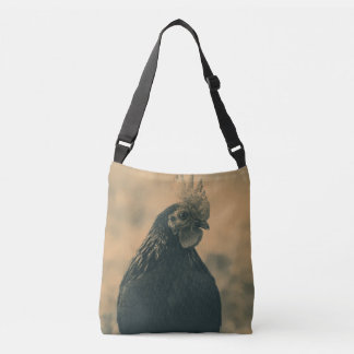 Rooster Portrait Crossbody Bag