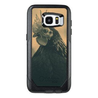Rooster Portrait OtterBox Samsung Galaxy S7 Edge Case