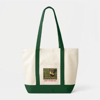Rooster  - Tote Impulse Tote Bag