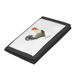 Rooster Trifold Wallets