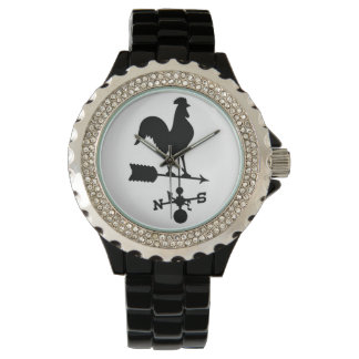 Rooster Weather Vane Watch