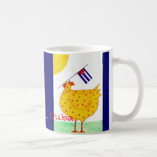 rooster with cuban flag, Cuba, Copyright Medina... Coffee Mug