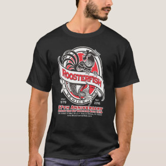 Roosterfish 37th Anniversary Black T-shirt