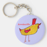 Roosterrific Keychains