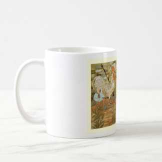 Roosters and hens coffee mug
