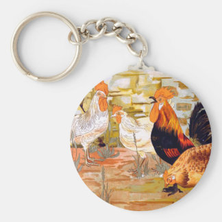 Roosters Keychains