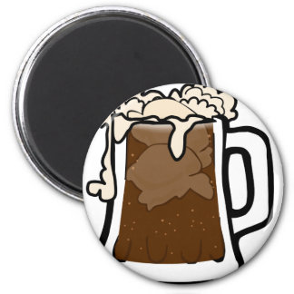 Root Beer Float Magnet
