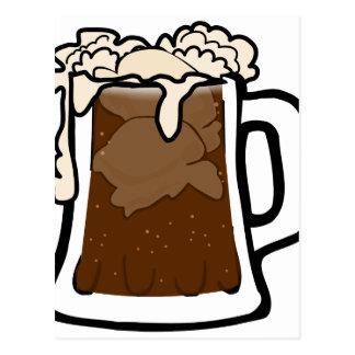 Root Beer Float Postcard