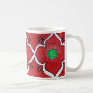 Root Chakra Lotus Flower Coffee Mug