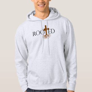 Rooted Hoodie (Light Grey)