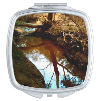 Rooted Reflections Mirror For Makeup