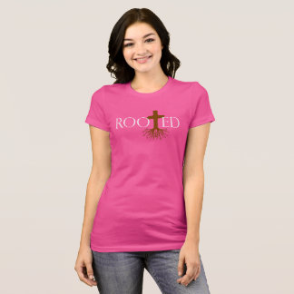 Rooted Woman's T-Shirt (Fun Colors)
