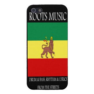 Roots Music Reggae Rasta iPhone 5 Case