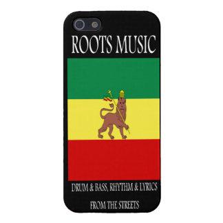 Roots Music Reggae Rasta iPhone 5 Cover