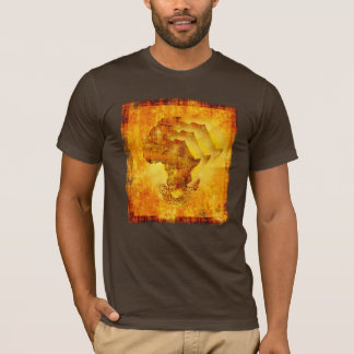 Roots of an African Dawn Africa Ethnic Grunge Tee