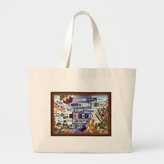 Roots & Wings Large Tote Bag