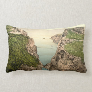Rope Bridge, Carrick-a-Rede, County Antrim Lumbar Cushion