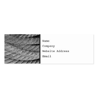 Rope. Pack Of Skinny Business Cards