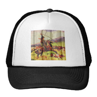 Rope em cowboy mesh hats
