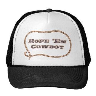 Rope Em Cowboy Hat
