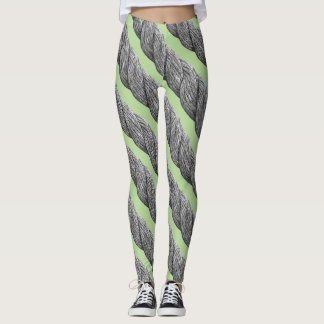Rope Pattern Leggings