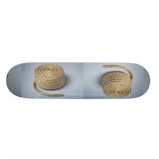 Rope Photo 18.1 Cm Old School Skateboard Deck