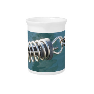 Rope sling with safety anchor shackle drink pitchers
