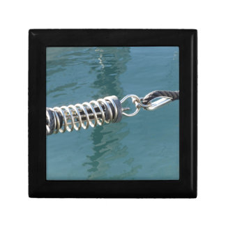 Rope sling with safety anchor shackle gift box