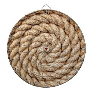rope, target circle design round mark dartboard
