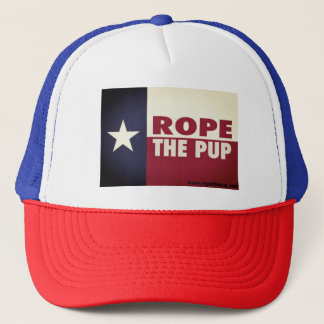 Rope The Pup Trucker Hat