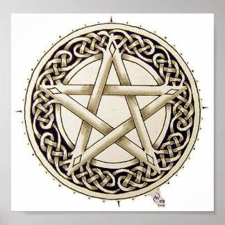 Ropework Pentacle Poster