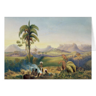 Roraima, a Remarkable Range of Sandstone Mountains Card